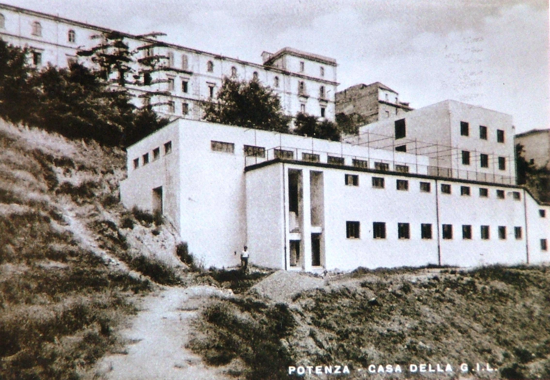 La Casa del Balilla - G.I.L. - Cartolina d'epoca - (1940) -